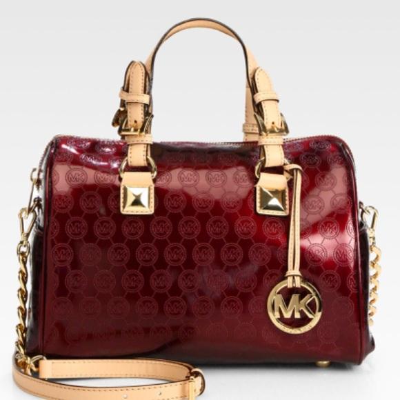 Michael Kors Handbags - NWT Mk Grayson bag